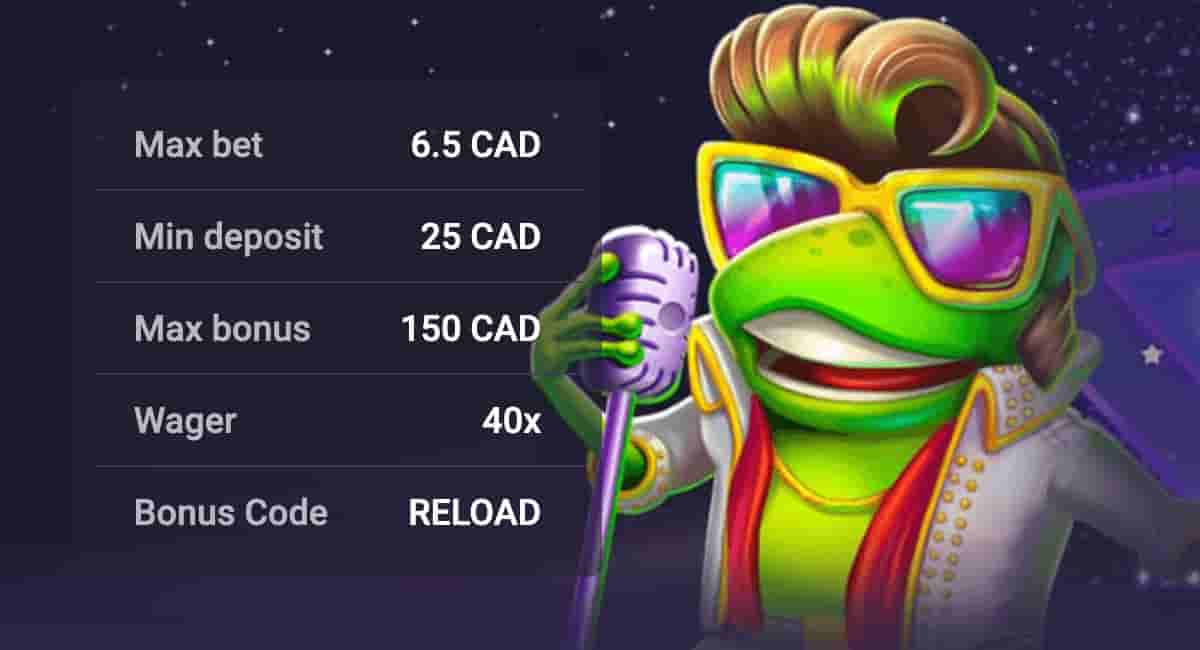 Reload Bonus for Canadian
